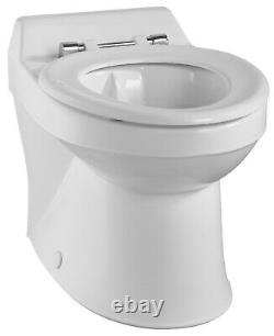 Twyford Sola School Rimless Close Coupled 350mm Wide WC Pan SA1514WH