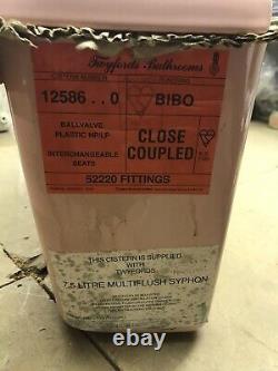 Twyfords Close Coupled BIBO Cistern (Inc Original Fittings) Tahiti 12586.0