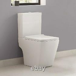 Voss Close Coupled Toilet with Soft Close Seat BUN/BeBa 16674/72489