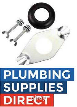 WC Close Coupling Toilet Pan / Cistern Kit Washer & 2 Bolts included CCK